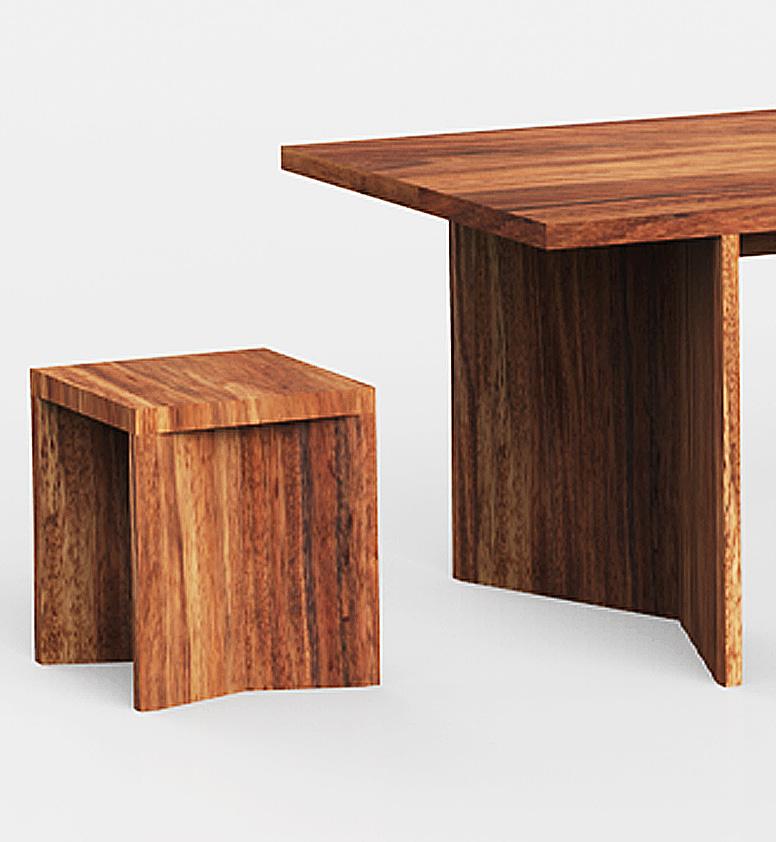 Taburetes de madera parota modernos finos y for Mesas de bar de madera