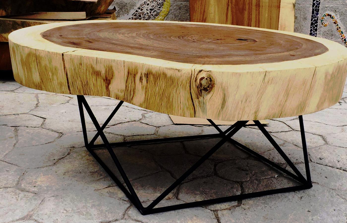 Parota parotas muebles de parota cdmx - Mesas de madera exterior ...