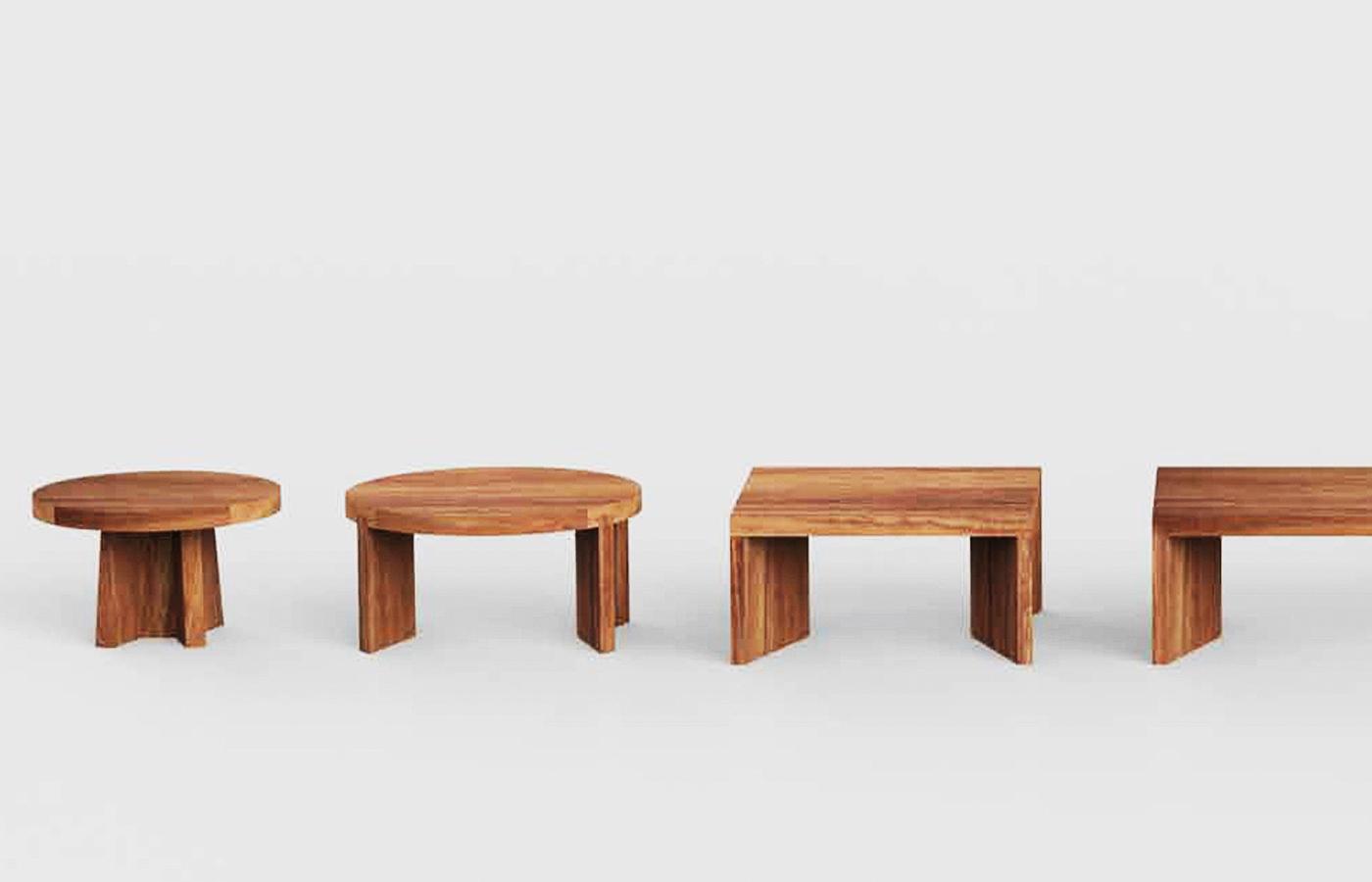 Modern Wood Coffee Tables