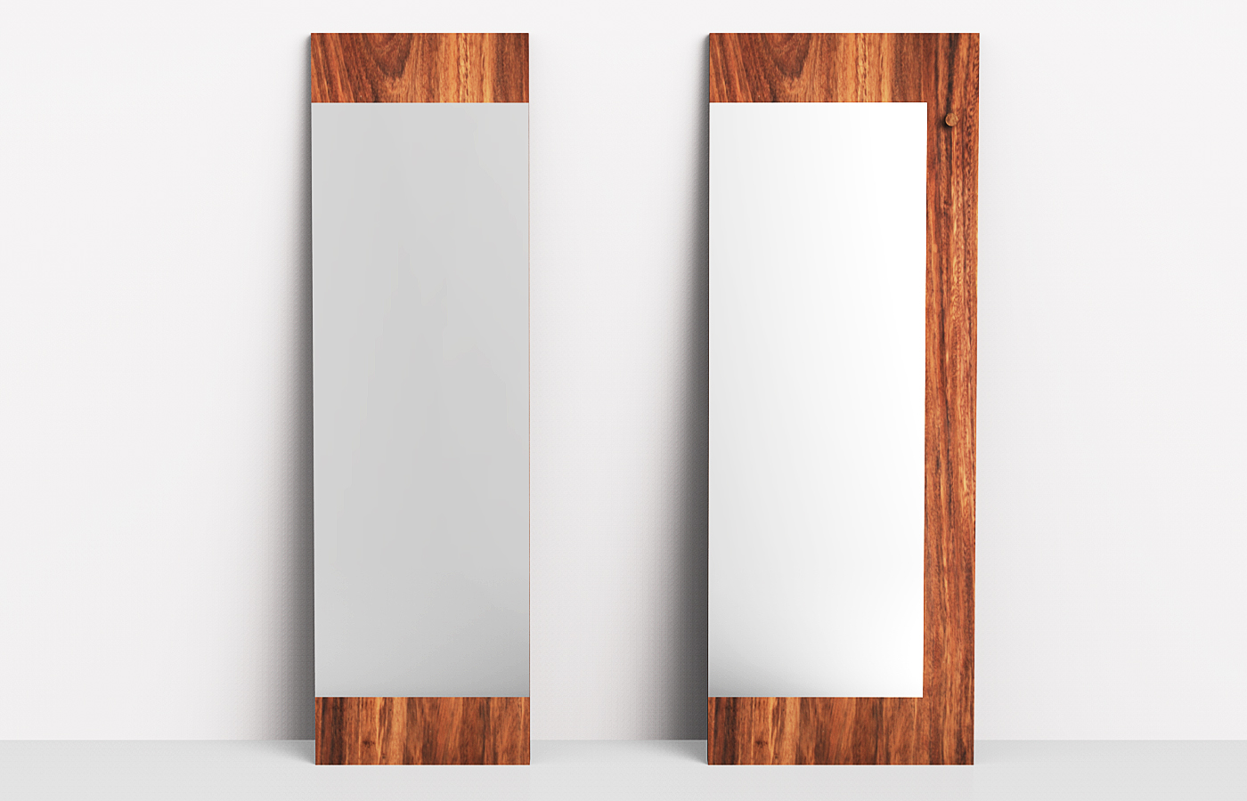 Wood framed mirrors full size of bathrooms designwhite for Small white framed mirrors