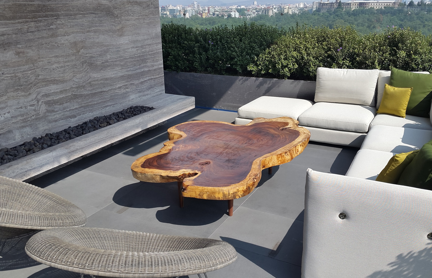 Tree Trunk Coffee Tables