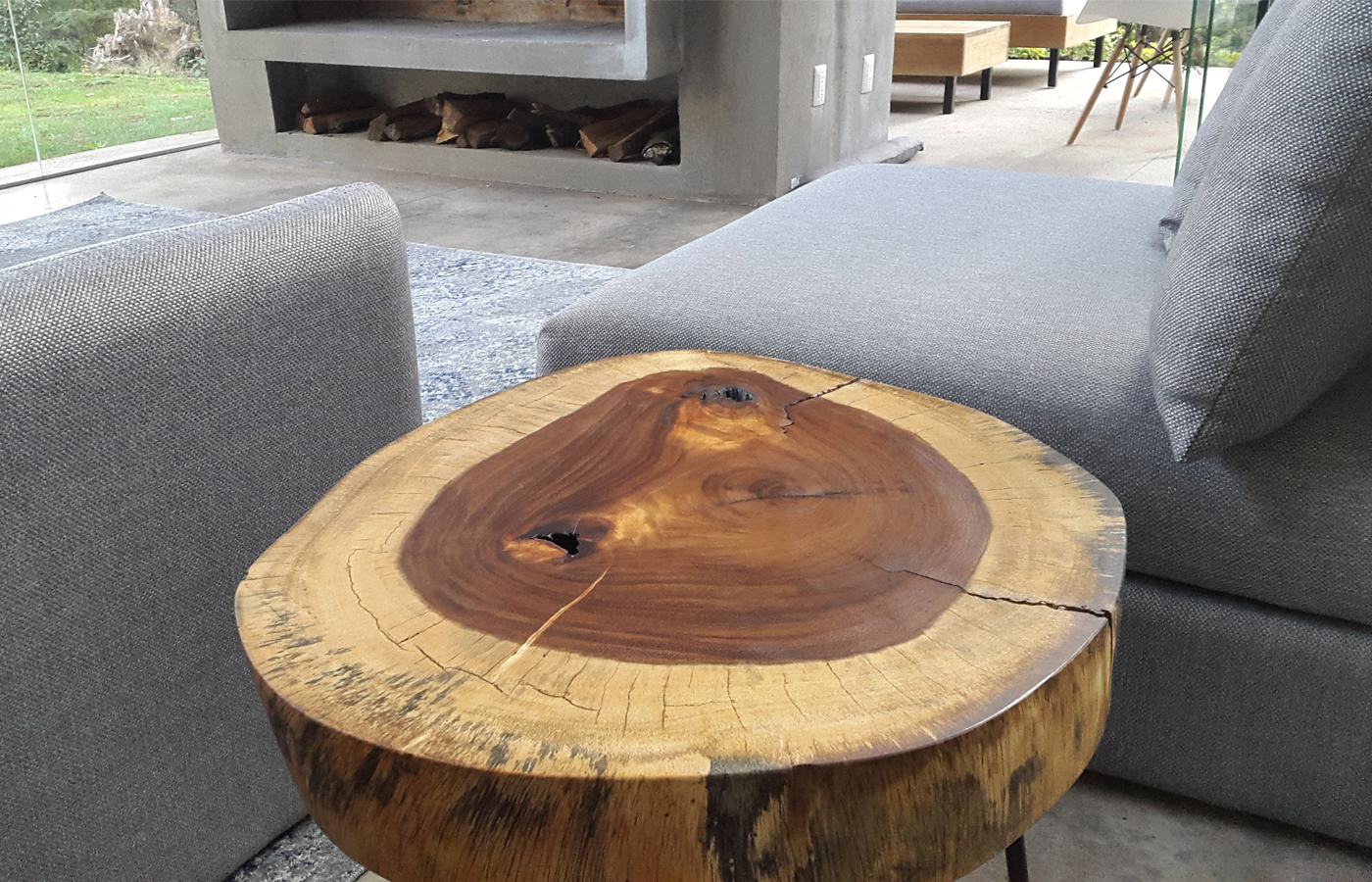 Trunk Wood Coffee Table