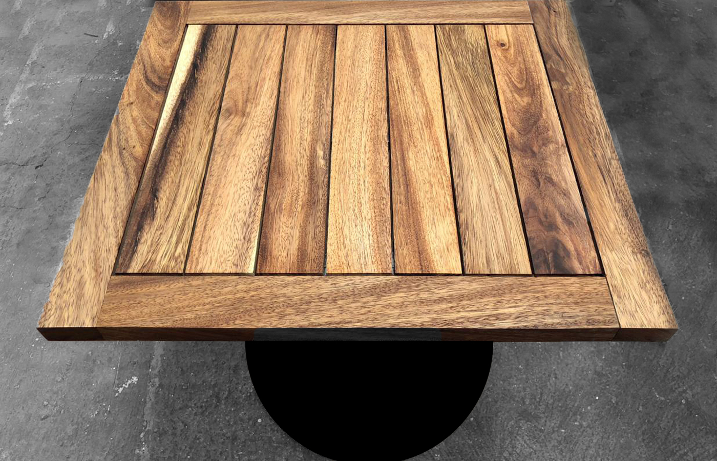 Custom Mexican Wood Outdoor Table
