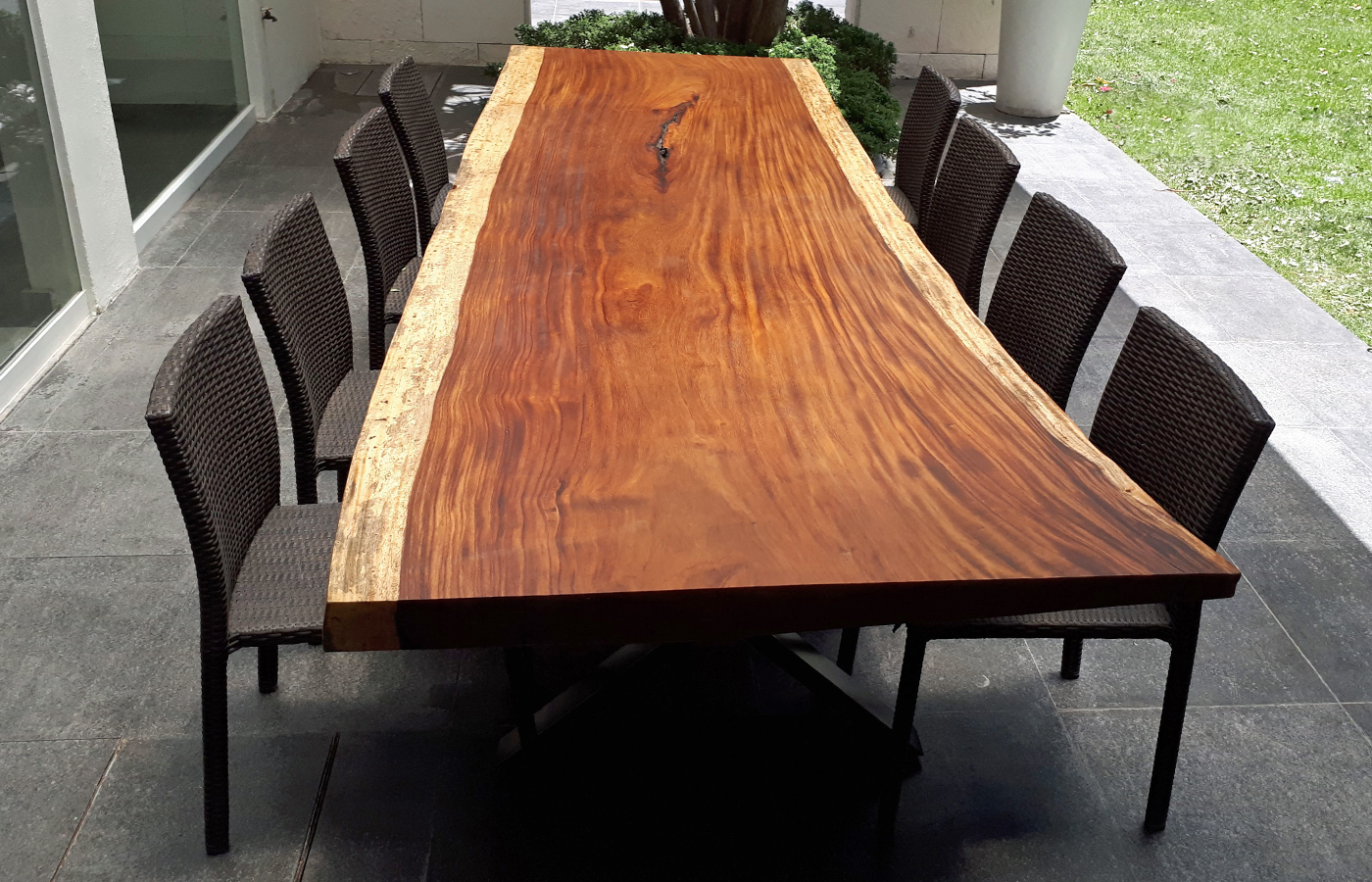 custom modern solid wood table