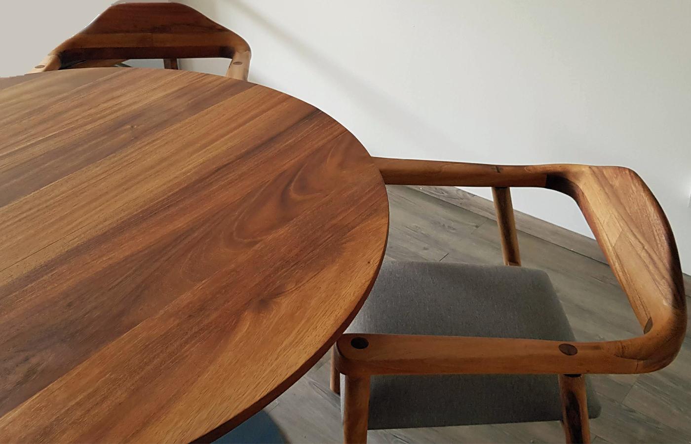 Custom Parota Dining Table Mexico