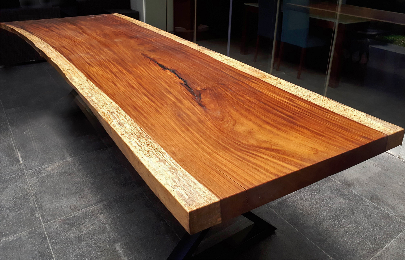 live edge wood countertop Mexico