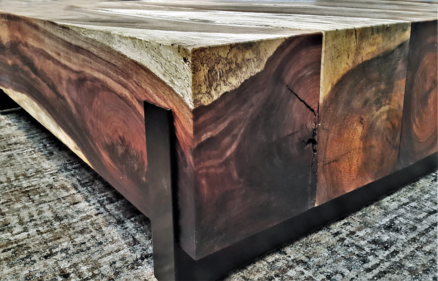 Admirable Parota Wood Coffee Tables Custom Made In Mexico Lamtechconsult Wood Chair Design Ideas Lamtechconsultcom