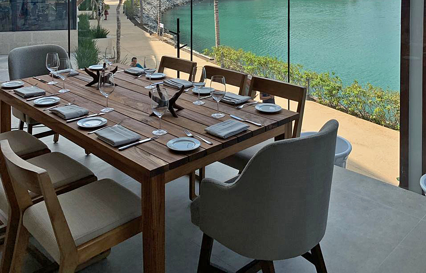 Modern Wood Dining Table Mexico