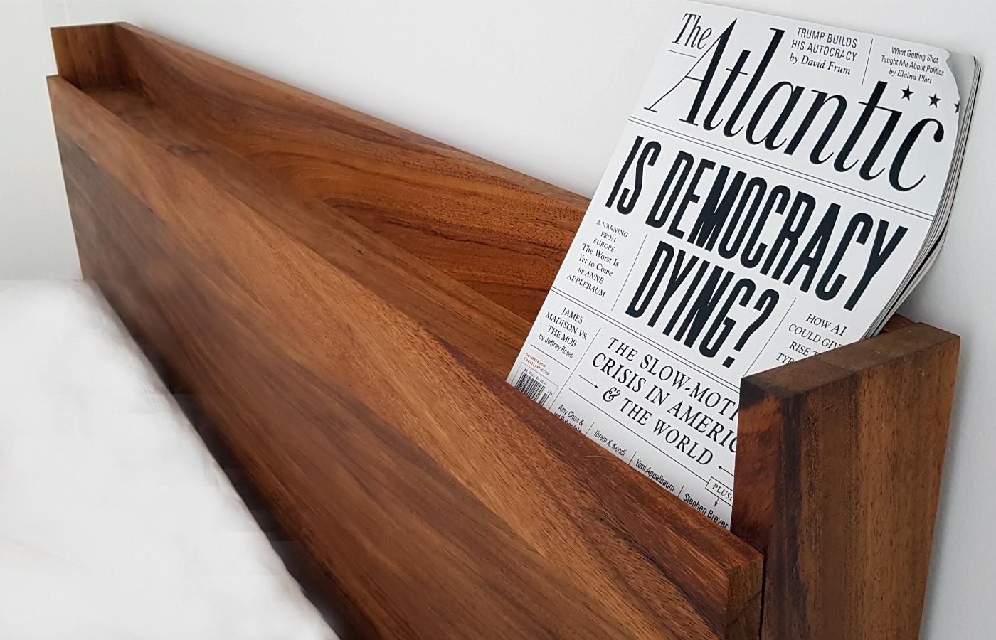 Recamera madera parota moderna