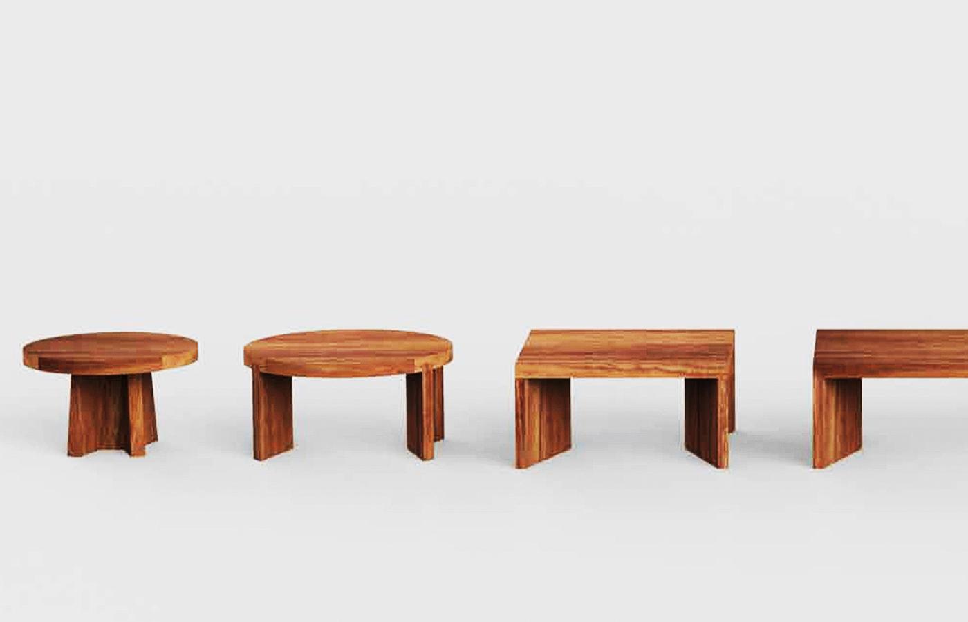 Parota Wood Coffee Tables Custom