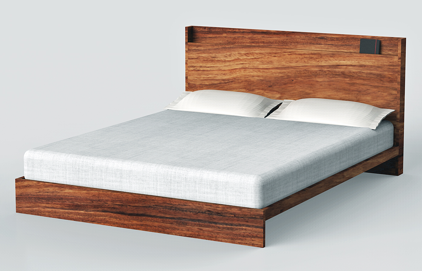 Custom Wooden Beds Headboards Parota Modern Designs Mexico