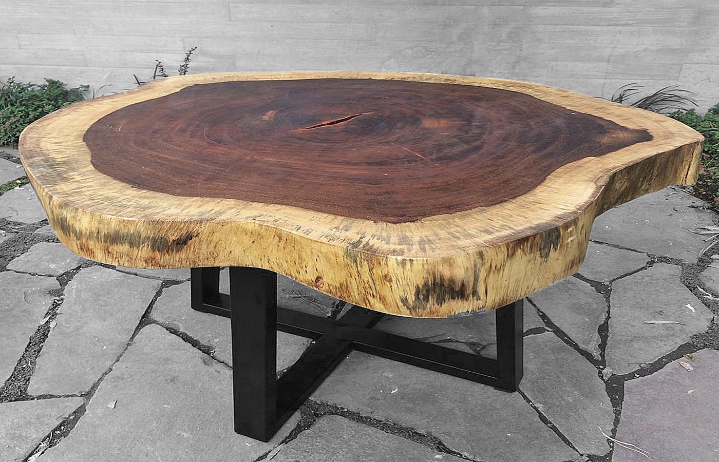 Parota Wood Tables Custom Modern Design Made In Mexico
