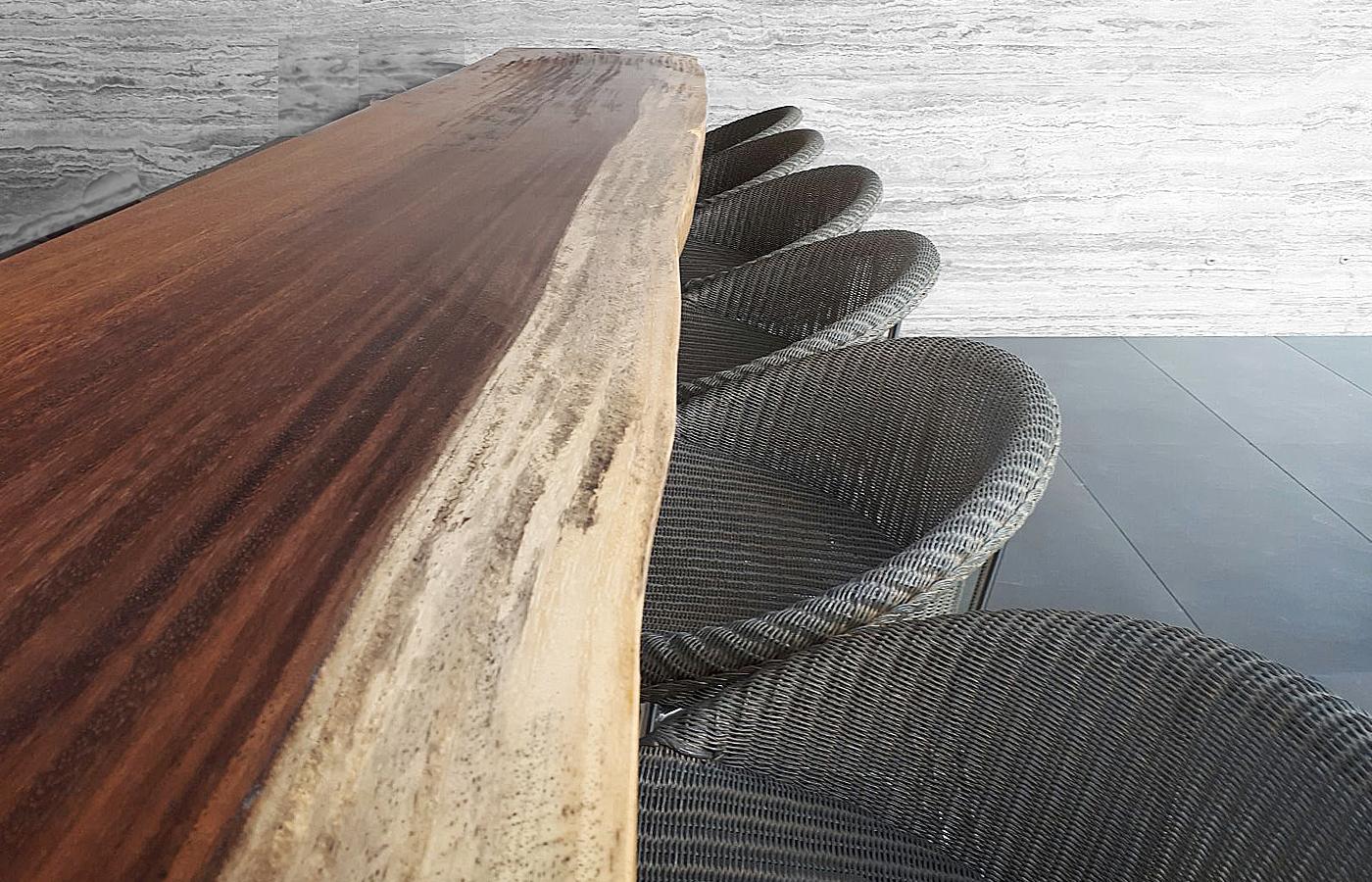 Parota Wood Countertops Live Edge